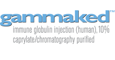 gammaked(TM): immune globulin injection (human), 10% caprylate/chromatography purified